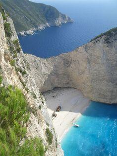 Navagio (shipwreck) Beach - Zakynthos, Greece