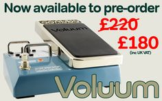 Sonuus Voluum pedal on sale now.