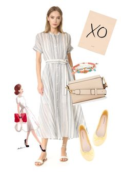 """""""dress"""" by masayuki4499 ❤ liked on Polyvore featuring Theory, ANNA BAIGUERA, Marc Jacobs, Chan Luu and Dolce Vita"""