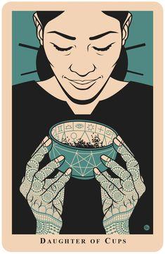 A messenger, creative beginnings, synchronicity. Tarot