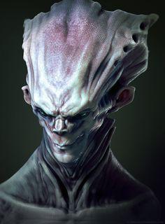 Headpiece Alien by *TLishman on deviantART