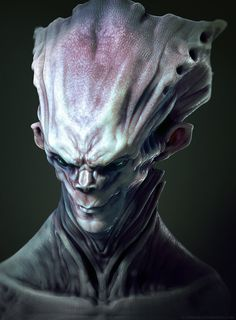 Headpiece Alien by *TLishman on deviantART