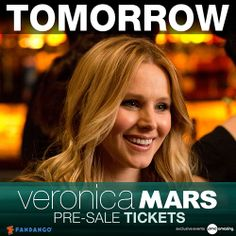 Hey Marshmallows! Join the Race to the Box Office & discover new content from the Veronica Mars movie every day. Share badges with friends & unlock exclusive rewards. Veronica Mars – In Theaters March 14. http://Race.TheVeronicaMarsMovie.com