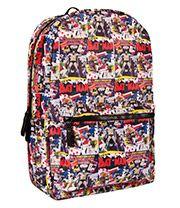 Batman Comic Backpack (Multi Coloured)