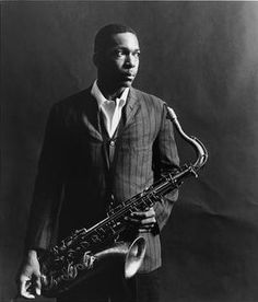"John William Coltrane, also known as ""Trane"", was an American jazz saxophonist and composer. Working in the bebop and hard bop idioms early in his career, Coltrane helped pioneer the use of modes in jazz and later was at the forefront of free jazz. Free Jazz, Jazz Artists, Jazz Musicians, Soul Artists, Francis Wolff, A Love Supreme, Hard Bop, Stoner Rock, Pop Rock"