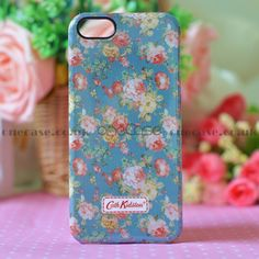"This beautiful Cath Kidston Case for iphone 5 will decorate, protect your iPhone5; Fashionable and uniqueness, gives your iphone5 a new look. You are looking at a piece of authentic ""Cath Kidston"" iphone case with lovely pattern on top. So lovely & special, super gift for friends!  ."