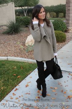 "Style Watch: ""Over the Knee Boots"" with Rack Room Shoes 