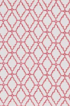 Kai - Mulberry Textile by Lacefield | Fabric by the Yard #interiors #pinkandorange #textiledesigner www.lacefielddesigns.com
