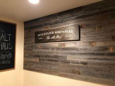 Rustic Reclaimed barn Wood Paneling Accent Walls, Easy Nail up Application Old Barn Wood, Reclaimed Barn Wood, Weathered Wood, Rustic Wood, Flooring On Walls, Wood Plank Walls, Wood Paneling Walls, Wood Paneling Makeover, Wood Siding