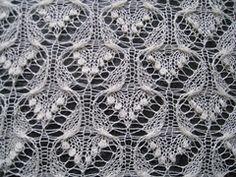 Ravelry: Knitritious' Estonian Haapsalu Shawl, Butterfly No 1 Triangular shawl