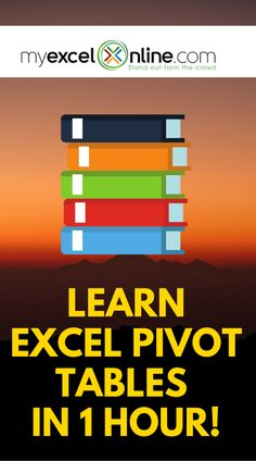 Time to overcome your fear and learn Excel Pivot Tables in just 1 hour! There are so many tips and t – Excel formulas and functions – Basic Excel Formulas Life Hacks Computer, Computer Help, Computer Tips, Computer Programming, Computer Lessons, Excel Cheat Sheet, Microsoft Excel Formulas, Excel For Beginners, Excel Hacks