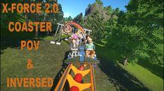Planet Coaster: X-Force 2.0 Coaster POV