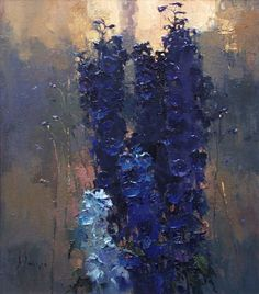 """The Delphiniums, Morning"" by Alexi Zaitsev"
