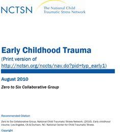 Early Childhood Trauma