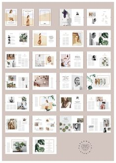 JOYCE Copper Magazine by Paperwhite Studio on @creativemarket