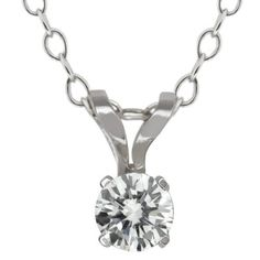 Purchase Gem Stone King White Gold Solitaire Diamond Pendant Necklace (GH, carat) from Gem Stone King on OpenSky. Share and compare all Jewelry. Diamond Pendant Necklace, Ring Necklace, Chains For Sale, White Gold Diamonds, Gold Rings, Women Jewelry, Gemstones, Jewels, Ebay