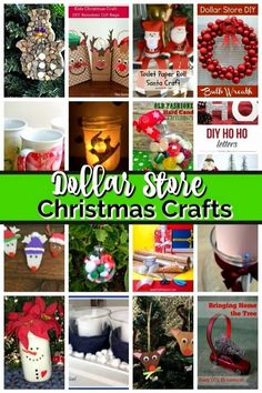 Did I hear dollar store Christmas decorations? Yes! When I think crafts I immediately think of the dollar store for craft supplies. The dollar store is my first stop for crafts supplies anytime of year, but particularly love making dollar store Christmas decor. #dollartreecrafts #christmascrafts Dollar Tree Christmas, Dollar Tree Crafts, Christmas Diy, Handmade Christmas, Outdoor Christmas, Christmas Stocking, Simple Christmas, Christmas Recipes, Holiday Recipes