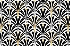 Image result for art deco black and white patterns