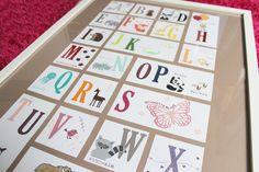 Alphabet zum Schulanfang mit Produkten von Stampin up
