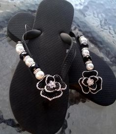 Chanel-ified  BY FLIPINISTA, Your BFF(Best Flip Flop)  Registered Trademark<3