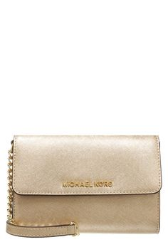 Michael Kors gold Jet set bag