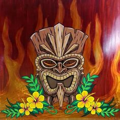 Like many things about this for entry Tiki Hawaii, Hawaiian Tiki, Hawaiian Tribal, Pinstriping, Totems, Tiki Tattoo, Maori Tattoos, Tribal Tattoos, Wiki Tiki