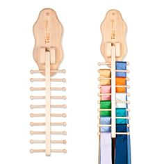 Space saving tie rack tie rack spaces and organizations awesome wall mount flip down tie rack for the hubby only 2395 at ties solutioingenieria Images
