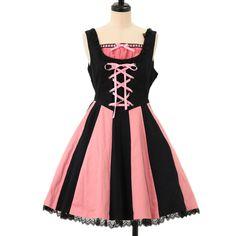 マリオネット☆ドールジャンパースカート|ゴスロリ・ロリータファッション服の通販はワンダーウェルト