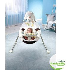 Fisher-Price - My Little Lamb Cradle Swing
