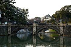 Nijubashi (Double Bridge) - 皇居正門石橋と伏見櫓