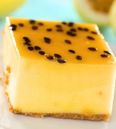 Passion Fruit Cheesecake!