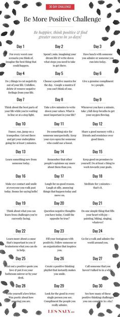 be more positive challenge mindfulness mindfulness guide intentional living