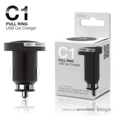 elago Nano EL-Car-C1  USB Car Charger for iPhone, iPod, MP3 Players, Digital Cameras, PDAs, and Mobile Phones (Black) by elago. $6.99. Use your cigar lighter outlet to charge any devices (iPhone, iPod, MP3 Players, Digital Cameras, PDAs, Mobile Phones and more) that can rely on USB for power. This adapter plugs into your car's cigarette lighter jack to become a powered USB port.