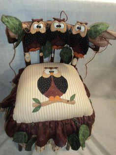 Cadeira de cojuninhas