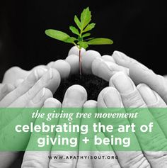 #giving The Giving Tree, Together We Can