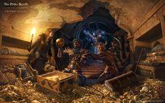 Wallpapers - The Elder Scrolls Online The Elder Scrolls Online, Elder Scrolls 6, Medieval World, Medieval Fantasy, Scrolls Game, Dark Brotherhood, Forgotten Realms, Keys Art, Video Game Art
