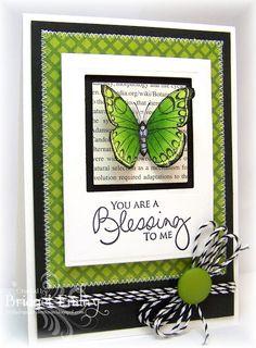 Bridget's Paper Blessings: Butterfly Blessings