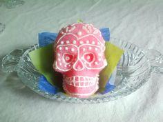 Vegan sugar skulls for sale on Etsy