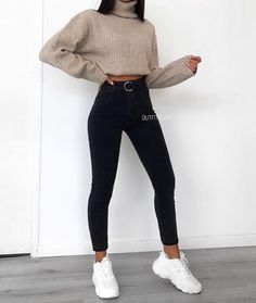 simply beauty teenager outfits ideas for the flawless look 5 ~ thereds. Cute Comfy Outfits, Cute Outfits For School, Stylish Outfits, Winter School Outfits, Simple Outfits For Teens, Classy Outfits, Fashion Mode, Winter Fashion Outfits, Fall Outfits