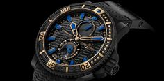 Ulysse Nardin's new addition to the Black Sea Collection