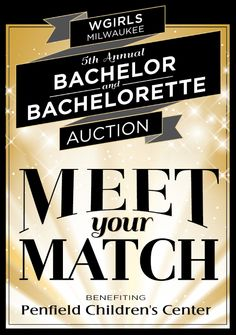"WGIRLS Milwaukee 5th Annual Bachelor & Bachelorette Auction ""Meet Your Match""  #wgirlsmeetyourmatch  WHEN: Thursday, May 15, 2014 7pm-10pm  WHERE: Wherehouse, 818 S. Water Street, Milwaukee, Wisconsin 53204 (414) 383-7593"