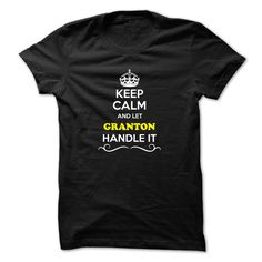 [Best holiday t-shirt names] Keep Calm and Let GRANTON Handle it  Discount Today  Hey if you are GRANTON then this shirt is for you. Let others just keep calm while you are handling it. It can be a great gift too.  Tshirt Guys Lady Hodie  SHARE and Get Discount Today Order now before we SELL OUT Today  Camping aaron handle it calm and let granton handle it keep calm and let bling handle itcalm blind some beers today they were trapped in bottle great gift for lover