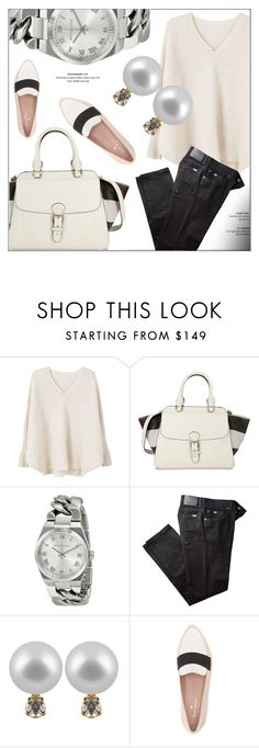 """Everyday Look"" by jomashop ❤ liked on Polyvore featuring MANGO, Burberry, BRAX, Kate Spade and casual"