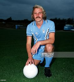 Sport Football Terry Yorath of Coventry City Circa 1977