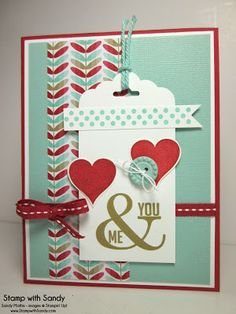 Perfect Pennants stamp set, Fresh Prints Stack DSP