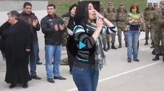 Հայուհու ոգեշնչող կատարումը հայ զինվորների համար (տեսանյութ)
