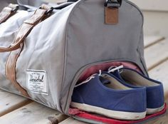 Duffle Bag with Shoe Compartment | 29 Ideal Travel Bags For Your Next Trip