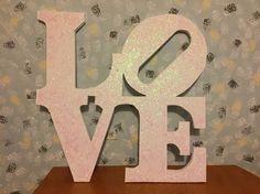 Love sign foam
