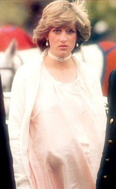 Princess Diana before the birth of Prince William