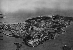 Vista aérea de La Coruña,AÑO ?
